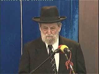 """עצרת זכרון ומספד לזכר הרב הגאון הרב אברהם שפירא זצ""""ל במלאת ימי השבעה"""