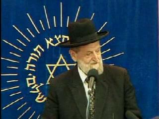 אזכרה במלאת שנה לפטירתו של הגאון הרב אברהם שפירא זצל