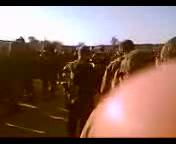 תפילת וקריאת שמע ישראל של חיילי גדוד 420 לפני היציאה לקרב