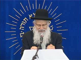 העצרת החגיגית של יום ירושלים בישיבת מרכז הרב - הרב זלמן מלמד