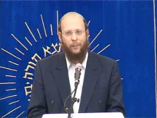 העצרת החגיגית של יום ירושלים בישיבת מרכז הרב - הרב יאיר גזבר