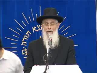 העצרת החגיגית של יום ירושלים בישיבת מרכז הרב - הרב יעקב אריאל
