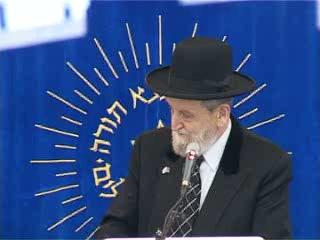 העצרת החגיגית של יום ירושלים בישיבת מרכז הרב - הרב שאר ישוב הכהן
