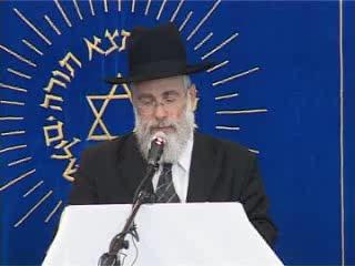 העצרת החגיגית של יום ירושלים בישיבת מרכז הרב - הרב יעקב שפירא
