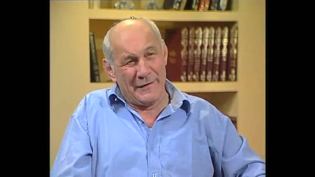 """התישבות - ראיון עם הרב חנן פורת זצ""""ל - תוכנית מספר 3"""