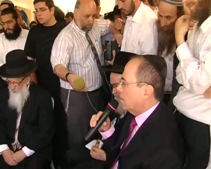 """היום השישי ל שבעה  של הרב מרדכי אליהו זצוק""""ל"""