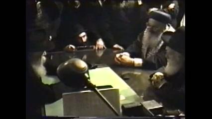 """פגישת הרב מרדכי אליהו והרב אברהם שפירא עם הרבי מליובאוויטש זצ""""ל"""