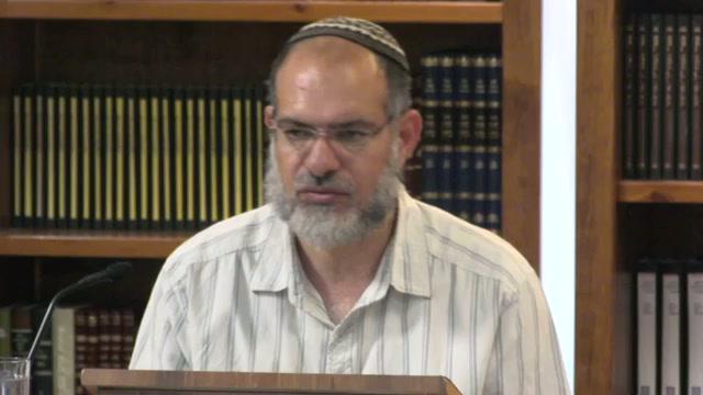 המהות הישראלית שקדמה לעולם - שיעור מספר 12