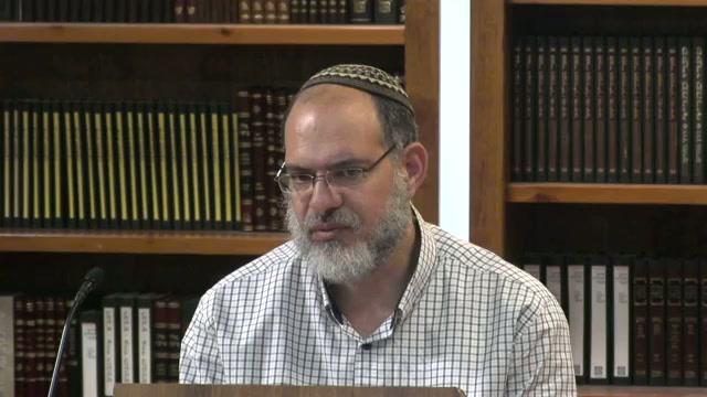 יחס הנטיות הלאומית והרוחנית בישראל זו לזו - שיעור מספר 35