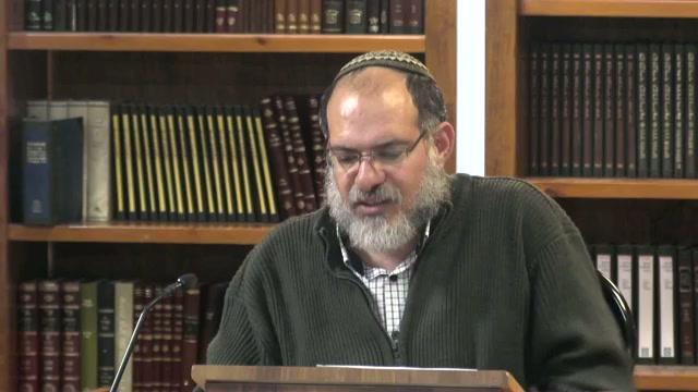 ישראליות וכלל אנושיות - שיעור מספר 41