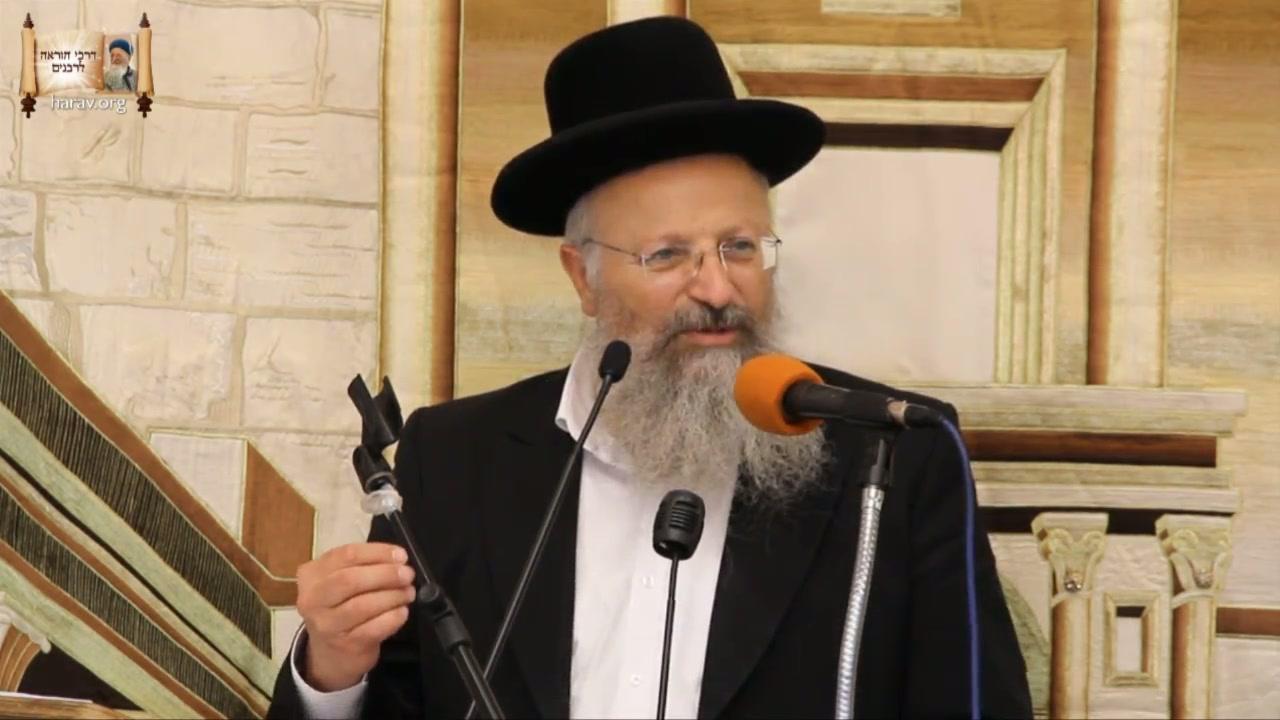 """""""והאיש מרדכי הולך וגדל"""" - אזכרה לרבנו הרב מרדכי אליהו זצ""""ל"""