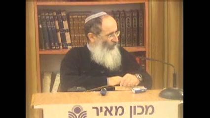 איש הישראלי צריך תמיד להסתכל בשכל של כל דבר - תורה א