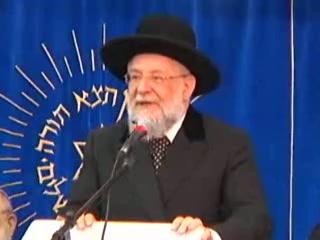 """הרב ישראל מאיר לאו - העצרת המרכזית ליום ירושלים מישיבת """"מרכז הרב"""" ה תשסח"""