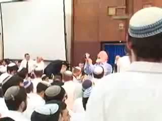 """הרב זלמן ברוך מלמד - העצרת המרכזית ליום ירושלים מישיבת """"מרכז הרב"""" ה תשסח"""