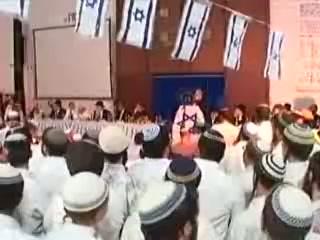 """העצרת המרכזית ליום ירושלים מישיבת """"מרכז הרב"""" ה תשסח"""