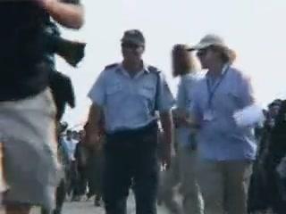 כוחות משטרה וצבא בשערי נווה דקלים