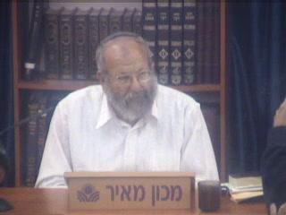 לג בעומר - המפגש בין רבי עקיבא ורבי שמעון בר יוחאי