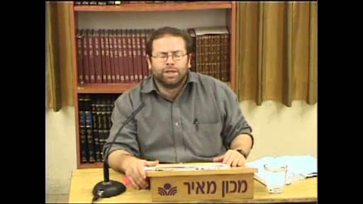 שובו של עם ישראל - שיעור מספר 7