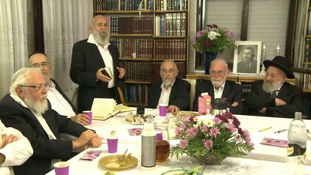 """ערב לציון חמישים שנה לפטירת הרב אלימלך בר שאול זצ""""ל"""