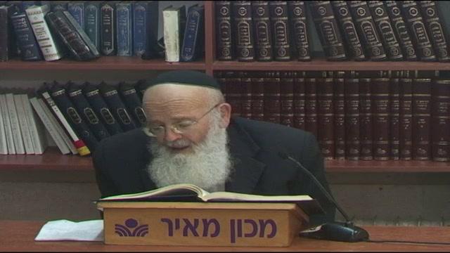 """מסכת בבא קמא דף נז  - שיעורו האחרון בדף היומי של הרב חנוך בן פזי זצ""""ל"""