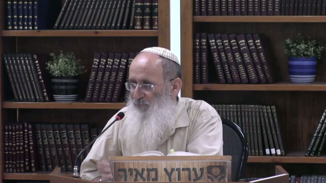 נקודת המוצא ביהדות היא הכלל ורק אחרי כן פונים אל הפרט