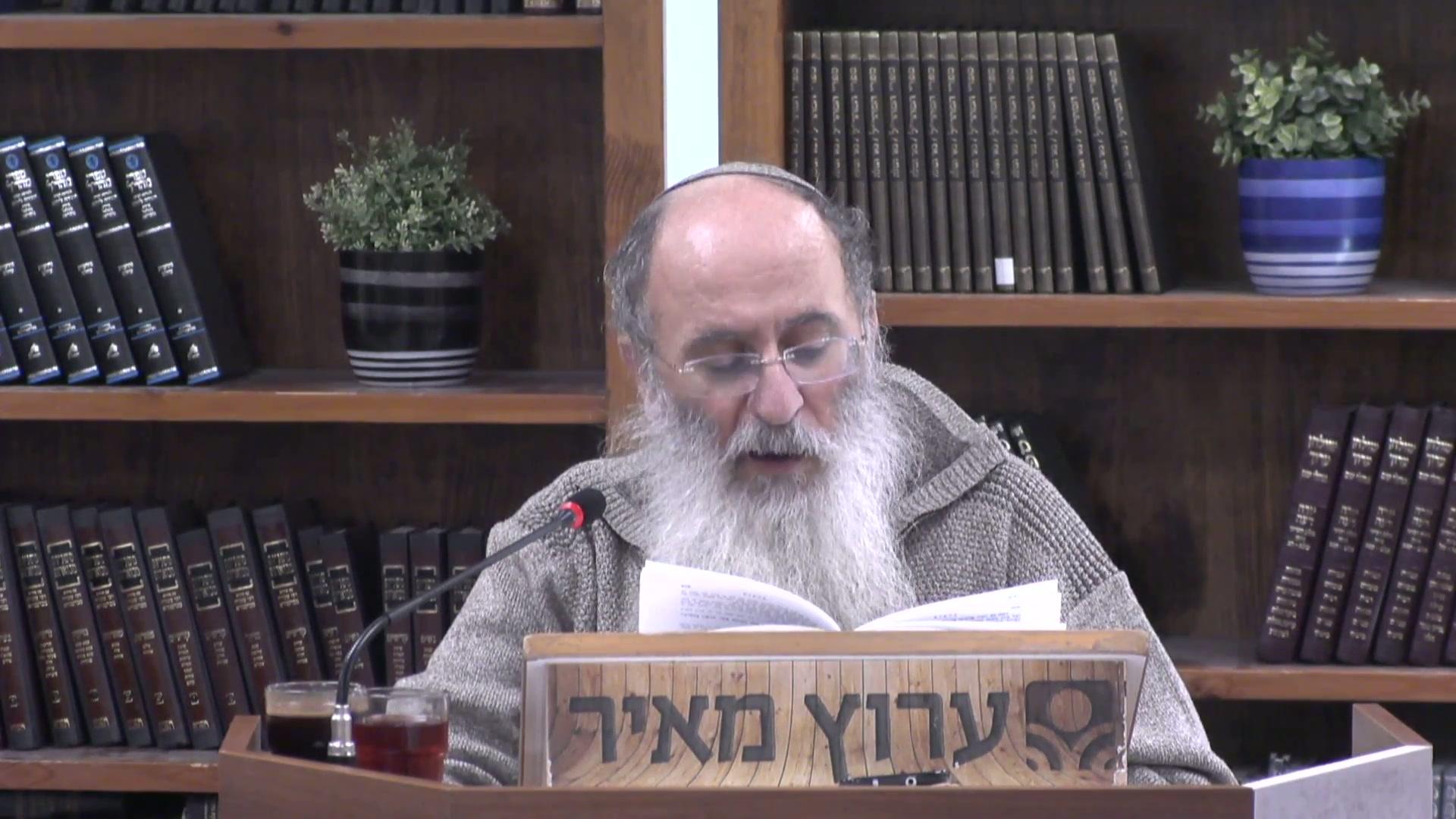 ברכת המזון וקשר היחיד והכלל בישראל - כל השקפת העולם של היהדות בתוך לחמניה  !