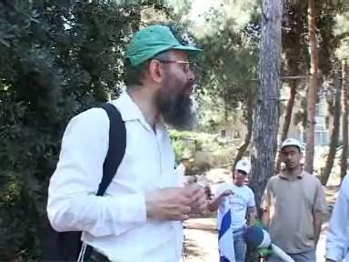 סיור בירושלים עם הרב דוד לנדאו