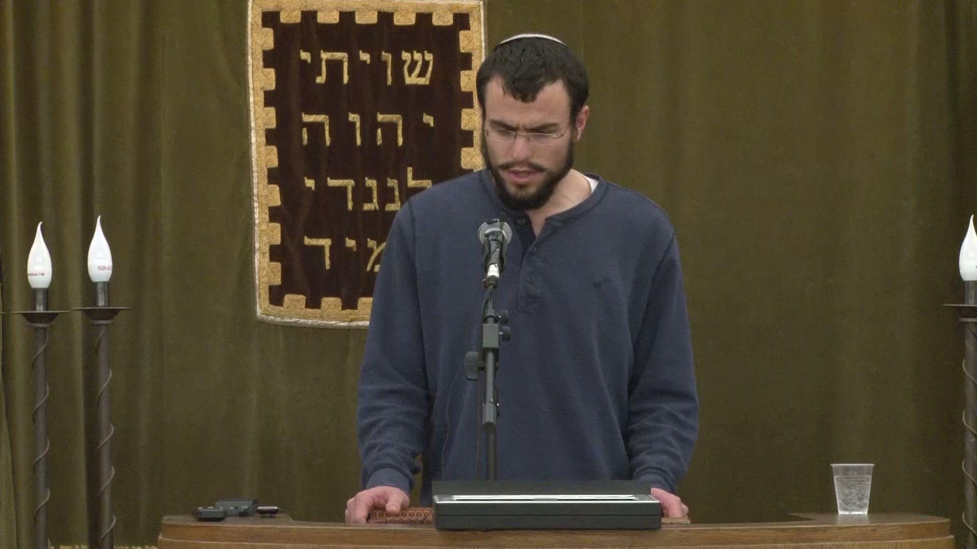 """אזכרת יום השלושים לרב אלישע וישליצקי זצ""""ל  - הבן , אלעד"""