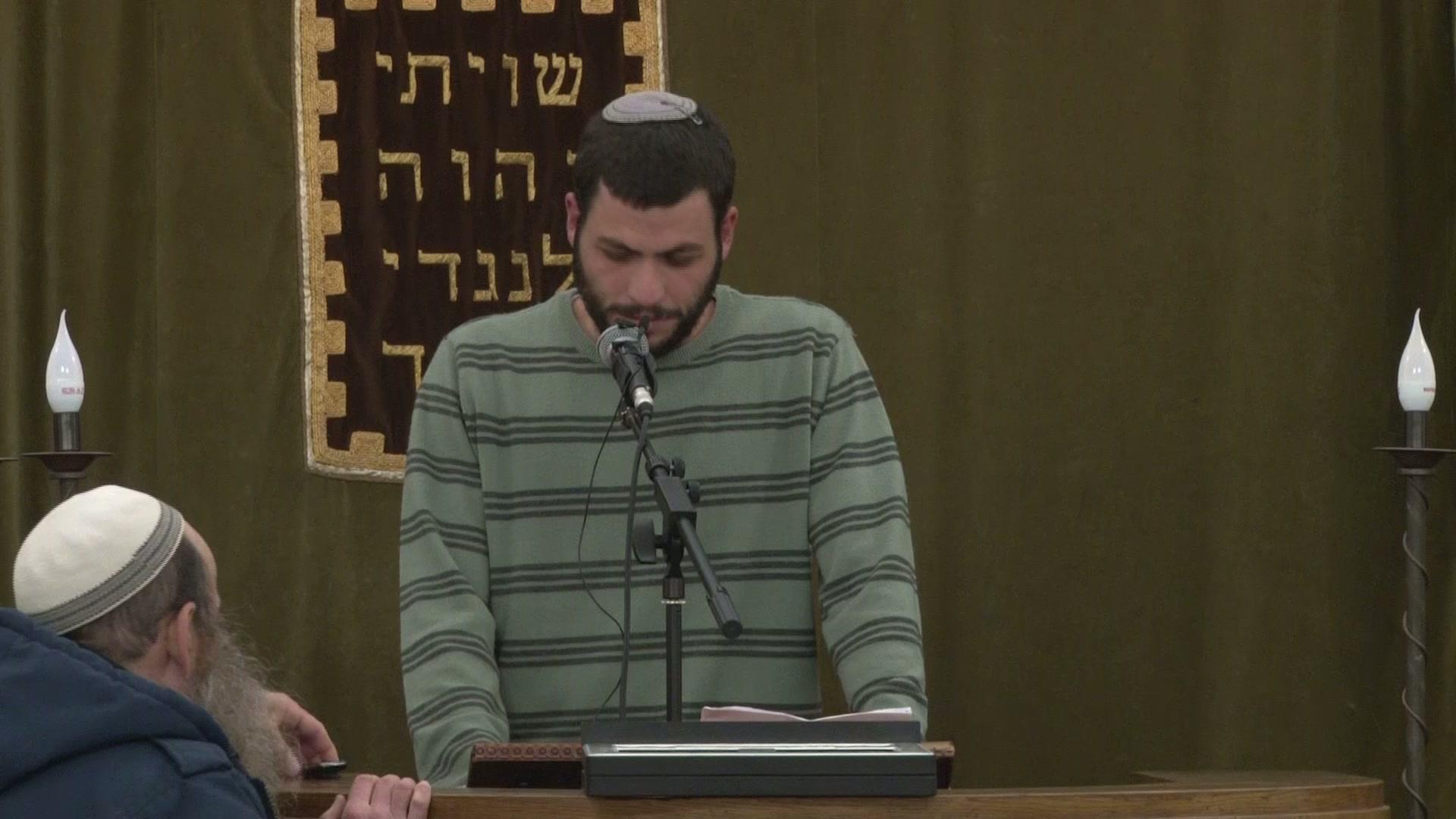 """אזכרת יום השלושים לרב אלישע וישליצקי זצ""""ל  - הבן, יהודה"""